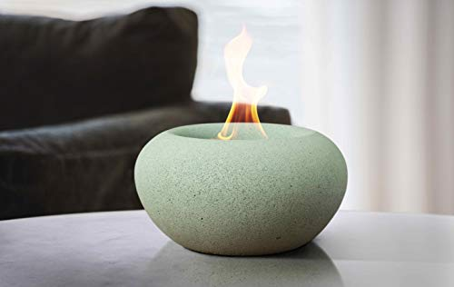 Terra Flame Stone Fire Bowl Table Top