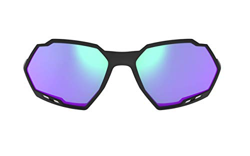 Lentes sobressalentes para óculos de sol, Switch Rush, HB, Unissex, Preto/Verde
