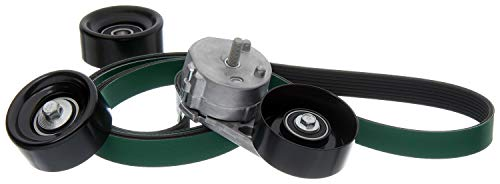ACDelco ACK080865HD Professional Automatic Belt Tensioner and Pulley Kit with Tensioner, Pulleys, and Belt