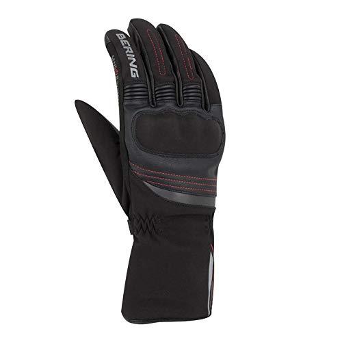 Bering, guanti da moto Lisboa, nero, T13