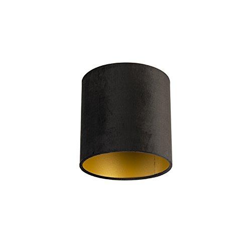 ikea lampenkap zwart goud
