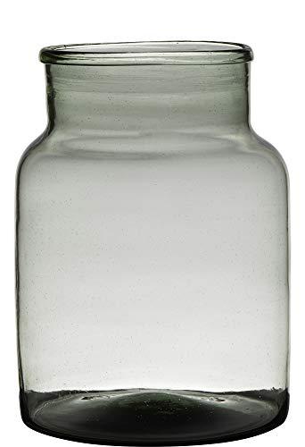 Vaas H25 D19 Handgemaakt Recycled Glas Jolo