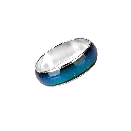 gefühl Stimmung Farbe veränderbar Ring Legierung US Größe 5