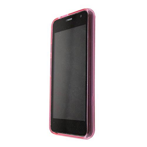 caseroxx TPU-Hülle für Archos Access 45 4G, Handy Hülle Tasche (TPU-Hülle in pink)
