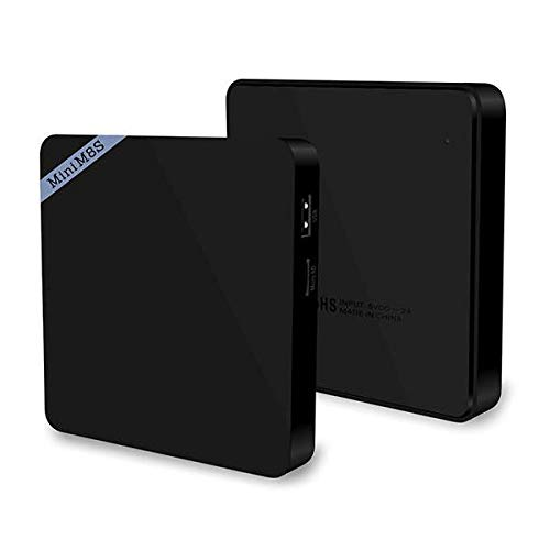 Mini M8S II Amlogic S905X Quad Core 64Bit Android 6.0 2GB DDR3 8GB eMMC ROM 2.4GHz WiFi Bluetooth 4.0 VP9 HDR10 4K Android Box Mini - Home Audio & Video TV Boxes