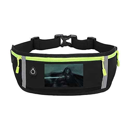 Star Wars - Cinturón impermeable para correr, bolsa de ciclismo, cinturón para correr, para viajes, vacaciones, camping, escalada, senderismo al aire libre