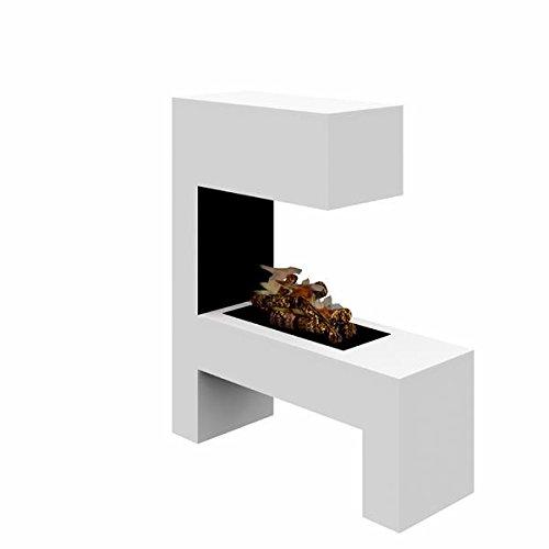 Elektrokamin - Raumteiler (120 x 110 x 35 + 10 cm)