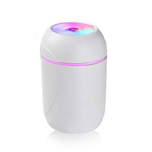 CloverGorge Difusor ultrasónico del aceite esencial del aroma del humidificador 260ml del aire del USB portátil