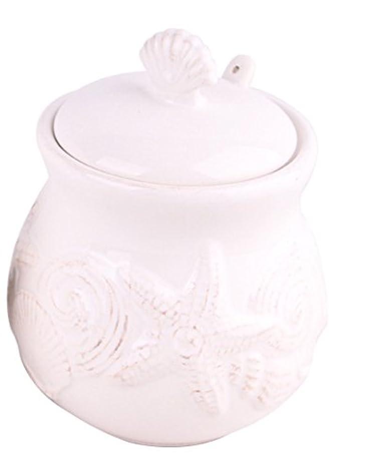 Blue Sky Ceramic 14526 Sugar Bowl White