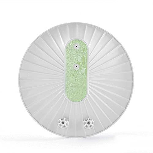 YXYY Lavavajillas inalámbrico, multifunción, USB eléctrico Recargable, Ventosa, lavaplatos portátil para Limpieza de Verduras, Frutas y Platos, Blanco, 5.9 Pulgadas, Verde
