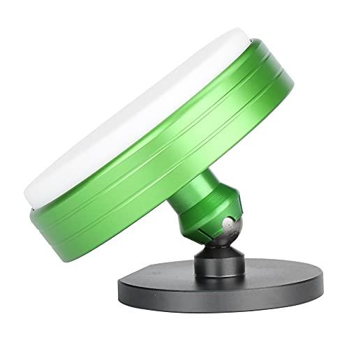 Cojín para el movimiento del reloj, cuero de PU + metal, conveniente almohadilla para la carcasa del reloj, antideslizante para relojería, relojero, soporte para el movimiento del reloj,