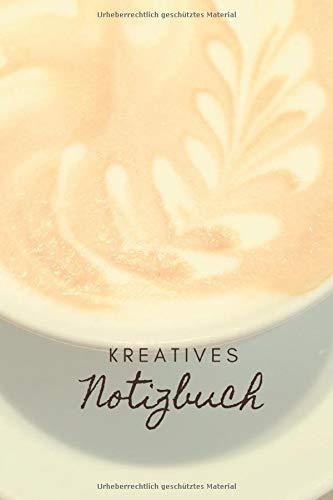 Kreatives Notizbuch Caffe Latte Kaffee Latte Art Bullet Journal ca A5 6x9