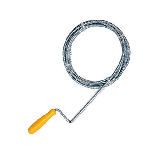 Rohrreinigungswelle Rohrreinigungsspirale Abflussreiniger Spirale 5 mm x 1.5 m