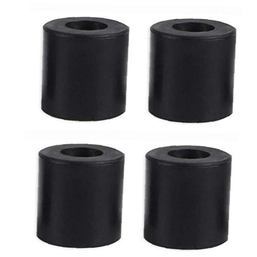 3D Printer Hot Bed Column Heatbed Silicone Leveling Column Heat-Resistant Stable Black Mounts Column Tools Accessaries 4 PCS Industrial Supplies