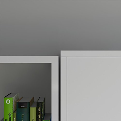 SMARTBett Basic 140×200 Vertikal Weiss Schrankbett   ausklappbares Wandbett, ideal geeignet als Wandklappbett fürs Gästezimmer, Büro, Wohnzimmer, Schlafzimmer - 9