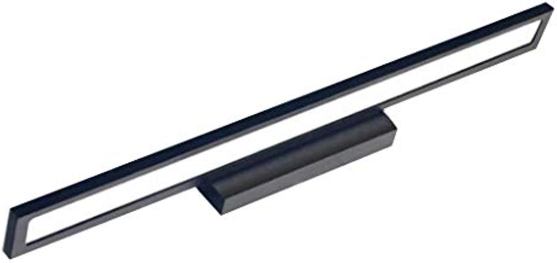 Spiegellampen Bad Spiegelleuchten Yang Führte Spiegelfrontlicht Einfache Moderne Aluminium Wandleuchte Badezimmer Badezimmer Wasserdichte Anti-Fog Spiegel Kabinett Make-Up Lampe (gre   7W 40CM)