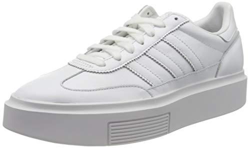 adidas Damen Sleek SUPER 72 W Leichtathletik-Schuh, FTWR White FTWR White Crystal White, 37 1/3 EU