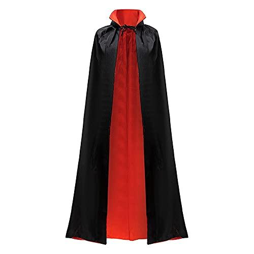 Qlans Capa Unisex para Adultos Capa Capa Cosplay Disfraza para Halloween Fiesta Temtica de Pascua