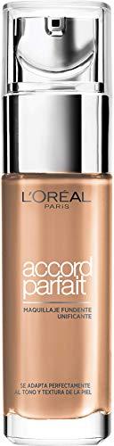 L'Oréal Paris Make-up designer Base de Maquillaje Acabado Natural Accord Parfait 5R Sable Rosé, 30 ml
