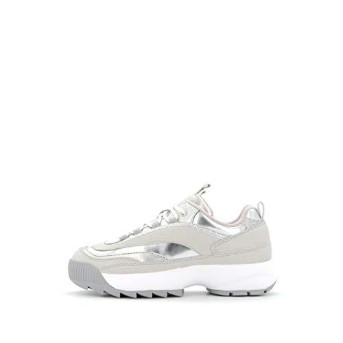 Guess Sneaker FL8KAE-ELE12 Scarpe Sportive Donna Argento 41