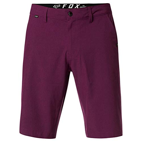 Fox Essex Tech Stretch - Pantalón corto, color morado oscuro morado 34