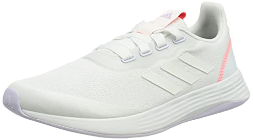 adidas Women's QT Racer Sport Sneaker, Mehrfarbig Ftwbla Matpur Rojsol, 7 UK