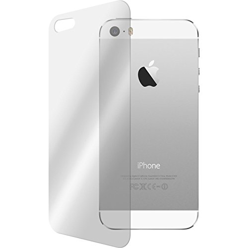 PhoneNatic 2 x Pellicola Protettiva Vetro Temperato Chiaro protettore Retro Compatibile con Apple iPhone 5 / 5s / SE Pellicole Protettive