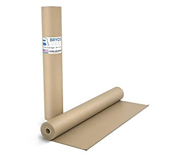Brown Kraft Butcher Paper Roll - Long 24 Inch x 175 Feet  2100 Inch  - Food Grade Brown Wrapping Paper for Smoking Meat of all Varieties – Unbleached Unwaxed and Uncoated – Made in USA