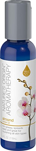 Nature's Origin™ Aromatherapy Almond Carrier Oil, 120 ml