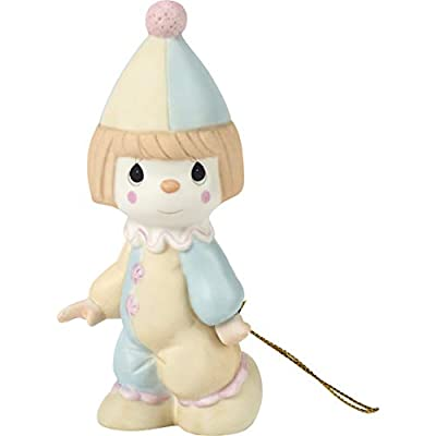 Precious Moments, Bless The Days Of Our Youth, Birthday Train Bisque Porcelain Figurine, 142019