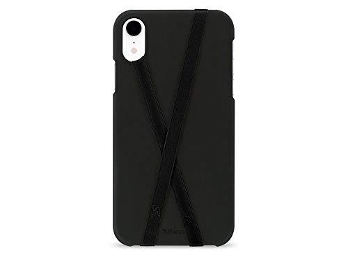 Artwizz PhoneStrap Fingerhalter - Zwei Smartphone Halterungen zur Befestigung an Schutzhülle - 2X Schwarz