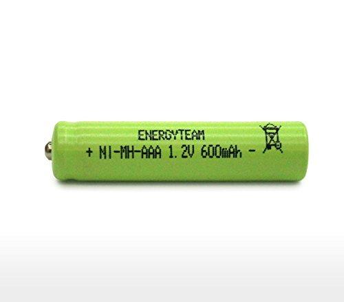 Batteria mini stilo AAA 600 MAh Ni-Mh bottone EnergyTeam