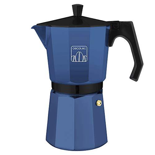 Cecotec cafetera Italiana MokClassic 900 Blue....