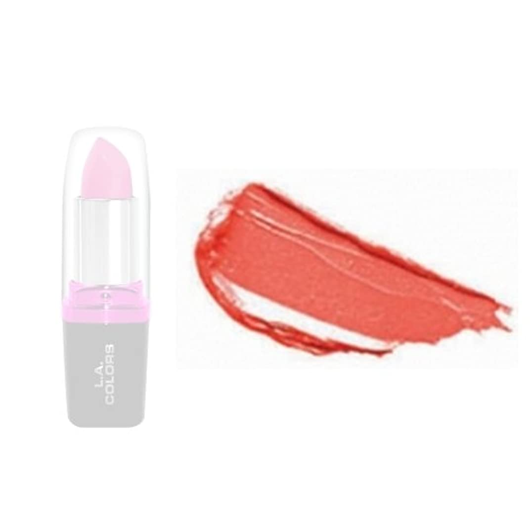 夫婦ファウルが欲しい(3 Pack) LA Colors Hydrating Lipstick - Blush (並行輸入品)
