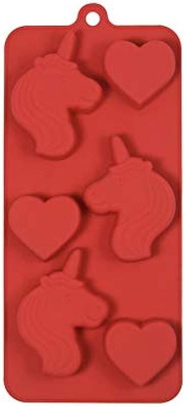 Unicorn Hearts Mold By Celebrate It