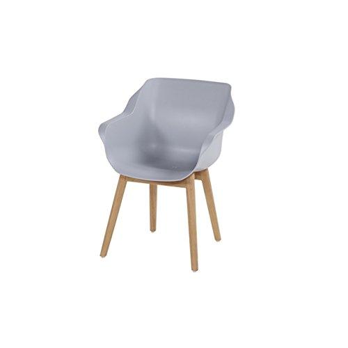 Hartman Hartman Sophie armchair teak nat/grey Kunststoff