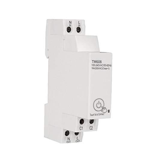 Sanfiyya Inicio de Smart Wi-Fi Remoto App Circuito de Control del Interruptor del Interruptor de temporización del Temporizador Escalera Universal