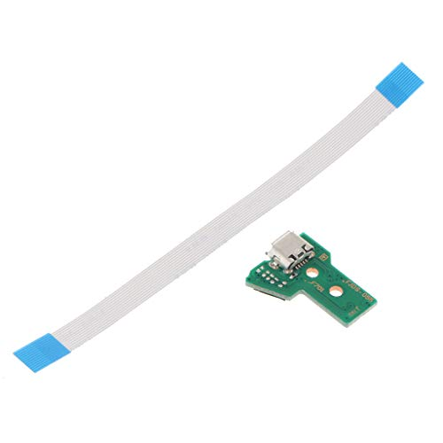 B Blesiya para Puerto de Carga USB Socket JDS 055 Placa de Circuito Cable de 12 Pines