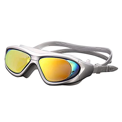 Gafas de natación Gafas De Natación Gafas De Piscina Antivaho Gafas Gafas De Buceo Ajustables Impermeables con Pinza Nasal C