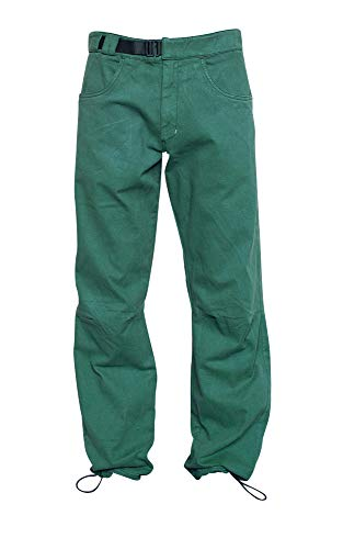 Café Kraft Herren Universum Pants Kletterhose Boulderhose (Jungle Green, L)