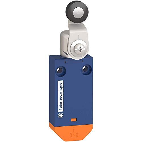 Interruptor de límite inalámbrico estándar XCMW del sensor Telemecanique OsiSense XC - palanca de rodillo de plástico, XCMW115
