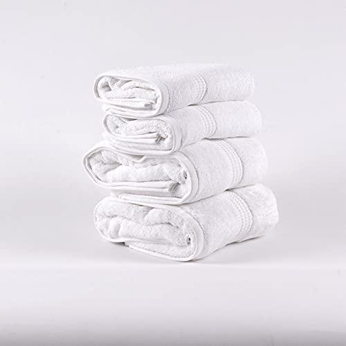 PimpamTex – Juego de Toallas Premium 700 Gramos de Secado Rápido para Baño, 100% Algodón, Pack...