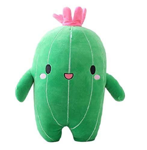 HUAU Flower Cactus Plant Plush Toy Stuffed Doll Pillow Cushion Strengthen Children Kids Boy Girl Gift Bedroom Decor 65 Cm