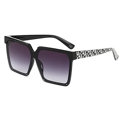 Gafas de sol de moda femeninas europeas y americanas tendencia caja ligand gafas de