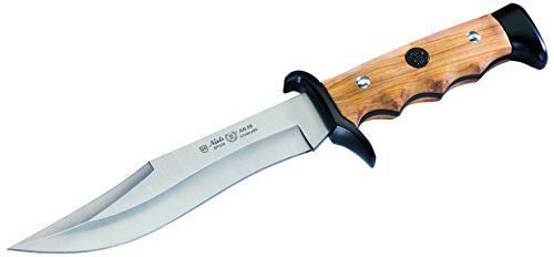 Nieto Unisex– Erwachsene Messer Gürtelmesser Olivenholz Gesamtlänge: 29.9 cm, braun, 29,9 cm