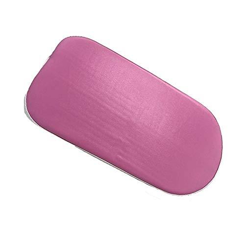 YQUC Fahrrad-Kindersitz Fahrrad Gepäckträger Fahrrad-Auflage-Kissen Auf dem Rücken Regal Mat Thick Sitz Tragen Kind-Babys Leicht (Color : Pink)