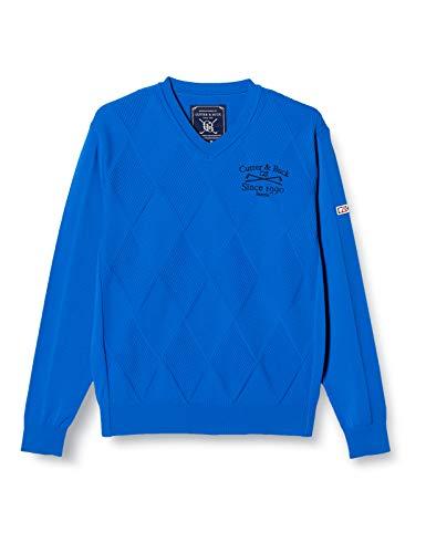 [カッターアンドバック] セーター CGMMJL02 メンズ ブルー 日本 M (日本サイズM相当)