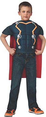 Avengers Assemble Marvel Thor Muscle Chest Shirt Child Costume One Size Fits Most