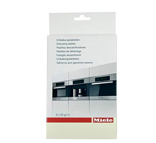 Miele Entkalkungstabletten für Dampfgarer, Kaffeemaschinen, Backöfen mit Klimagaren incl. Microfasertuch ca 30 x 30 cm