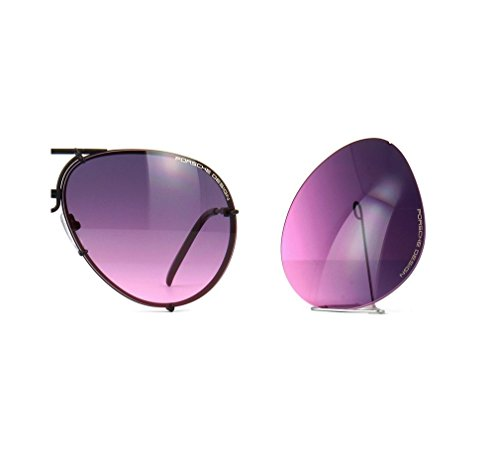 Original Porsche Design Lenses Set Only - For Model P8478-100% Authentic (V574 - Pink gradient, 69)